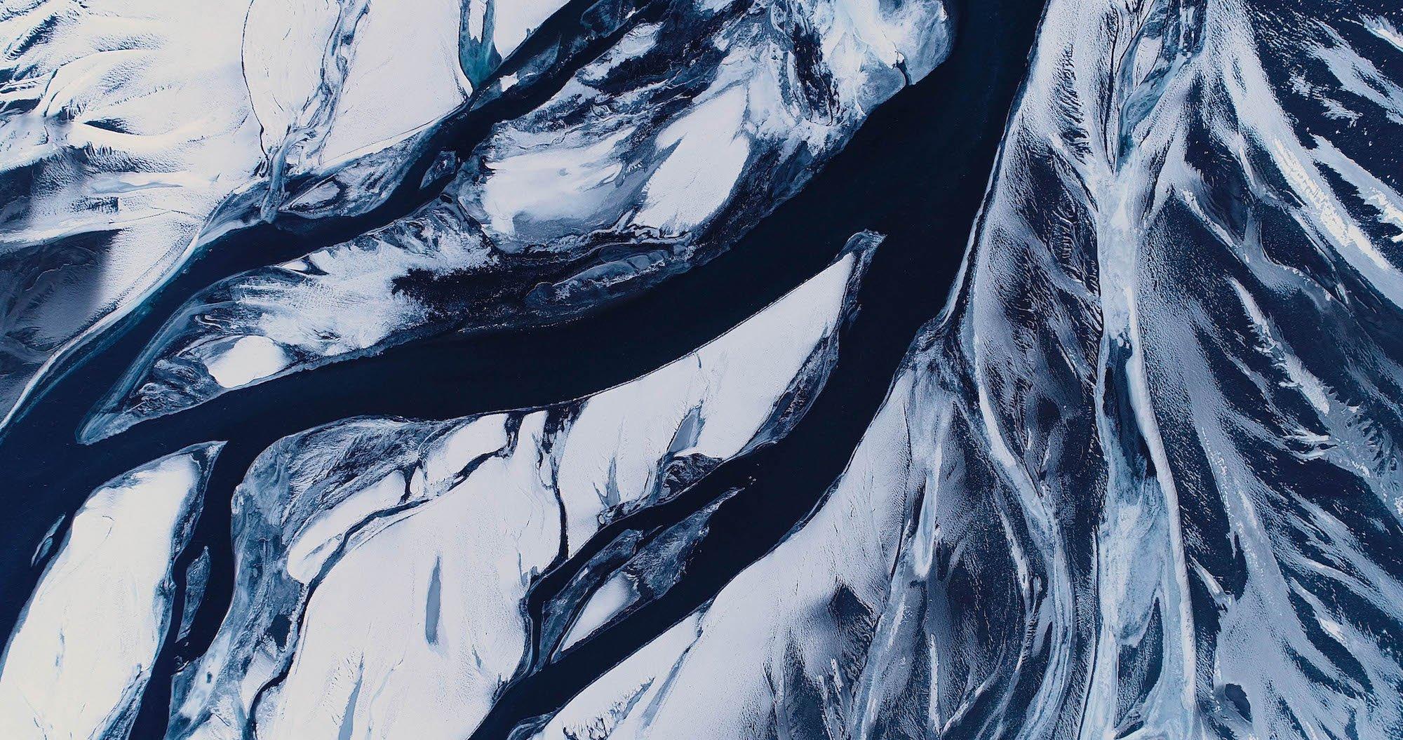 Fractal Rivers Iceland