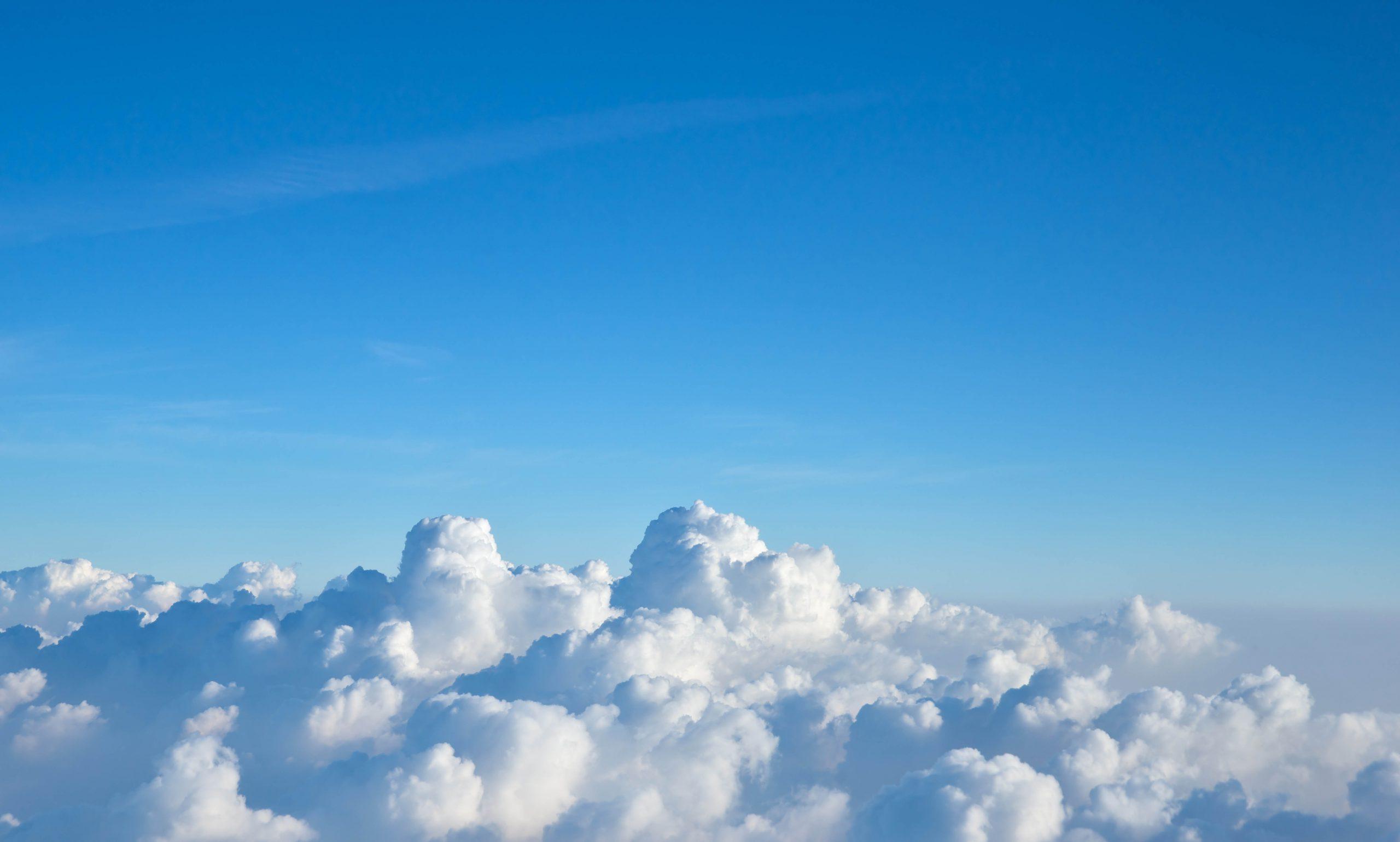 Fractal Sky Clouds