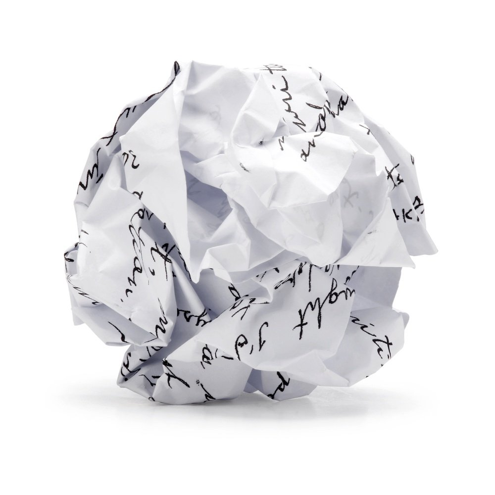 Fractal Dimensions Ball of Paper